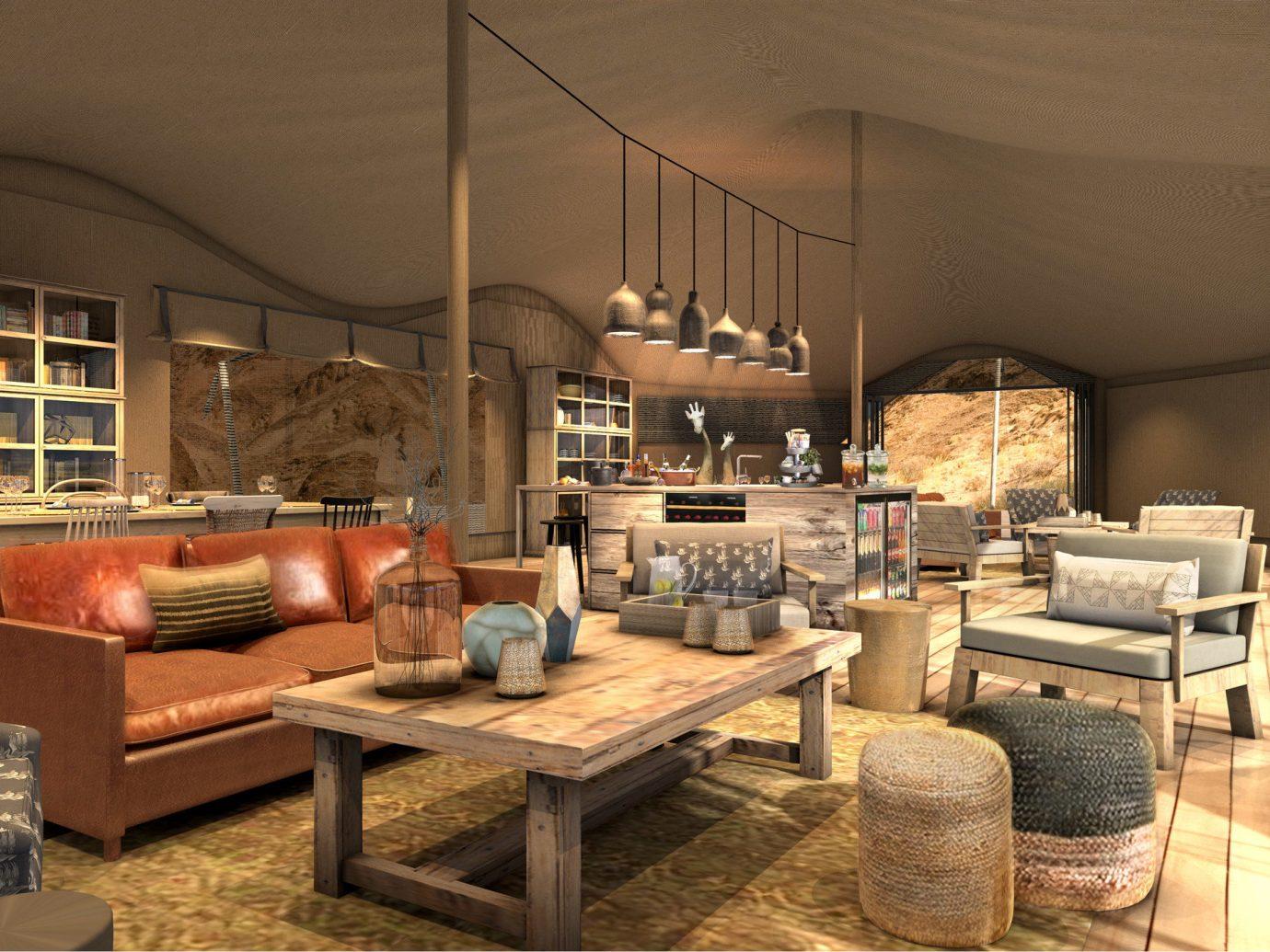 africa Honeymoon Namibia Romance Trip Ideas table indoor floor room chair Living living room interior design furniture loft interior designer area
