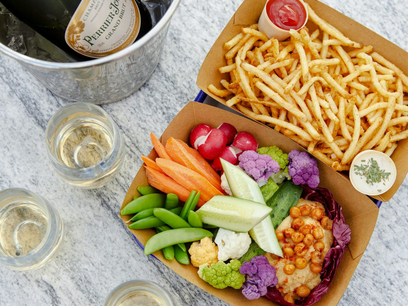 Food + Drink NYC food dish meal cuisine lunch vegetarian food vegetable side dish appetizer container asian food salad junk food recipe bento fast food finger food