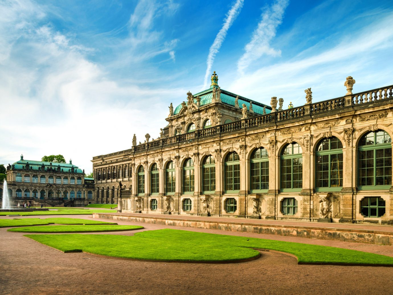 Berlin europe Germany Hamburg Munich Trip Ideas sky landmark stately home palace estate grass daytime classical architecture national trust for places of historic interest or natural beauty building tourist attraction château historic site mansion facade tree tourism university plaza landscape cloud