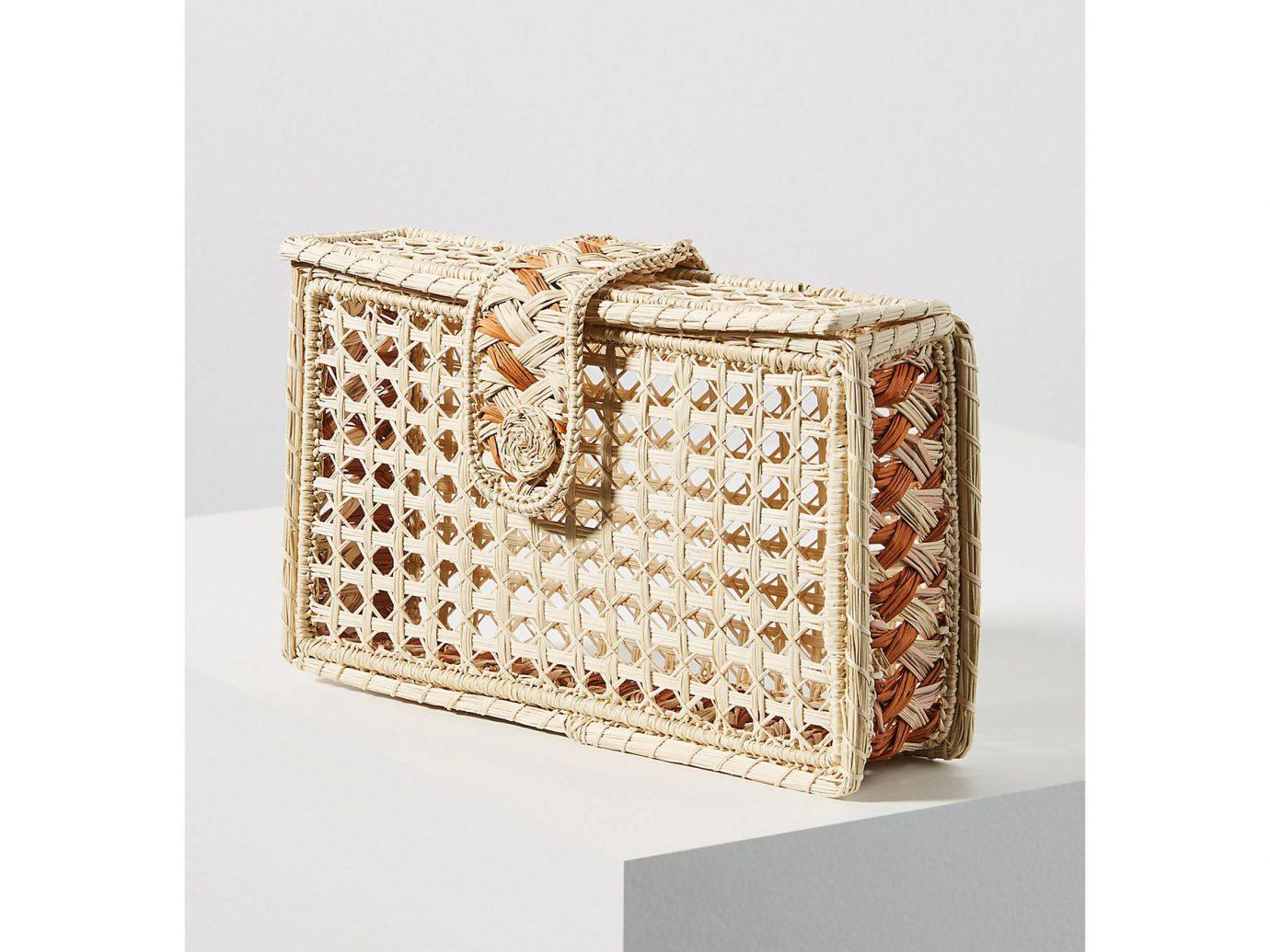 Kaanas Monteria Woven Box Clutch