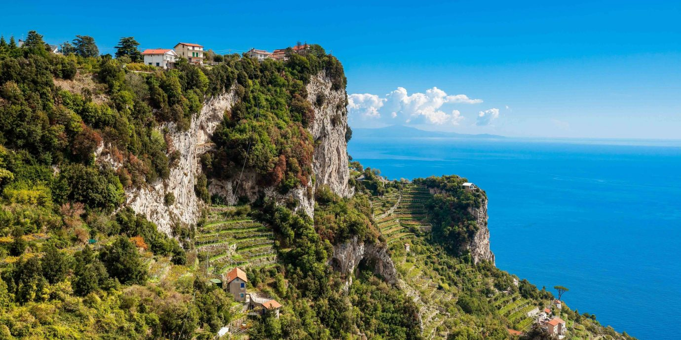 europe Outdoors + Adventure Trip Ideas Coast vegetation sky cliff nature reserve promontory rock mount scenery escarpment Sea terrain cape klippe mountain headland tourism tree formation landscape coastal and oceanic landforms national park hill shrubland bay plant community