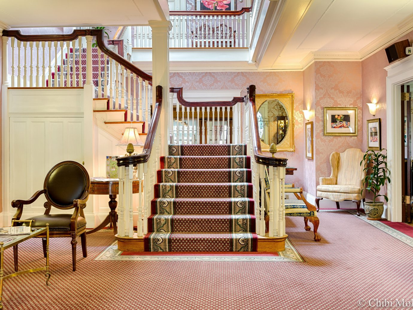 Romance Trip Ideas room interior design Lobby home furniture flooring stairs real estate floor estate hall house