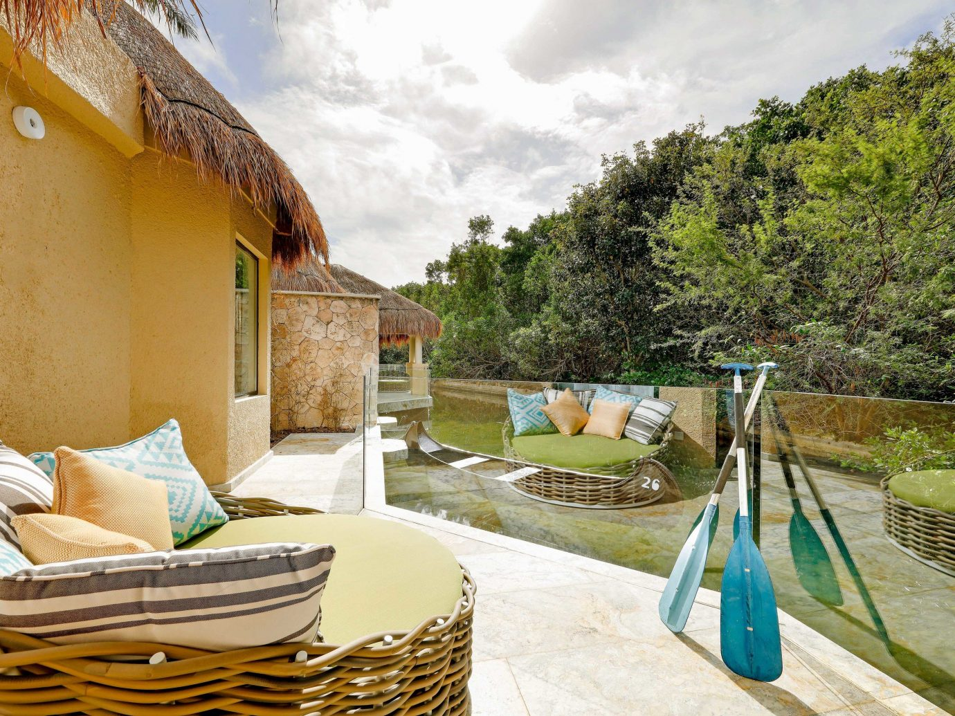 All-inclusive All-Inclusive Resorts Mexico Riviera Maya, Mexico property real estate estate Villa Resort home house outdoor structure hacienda vacation leisure