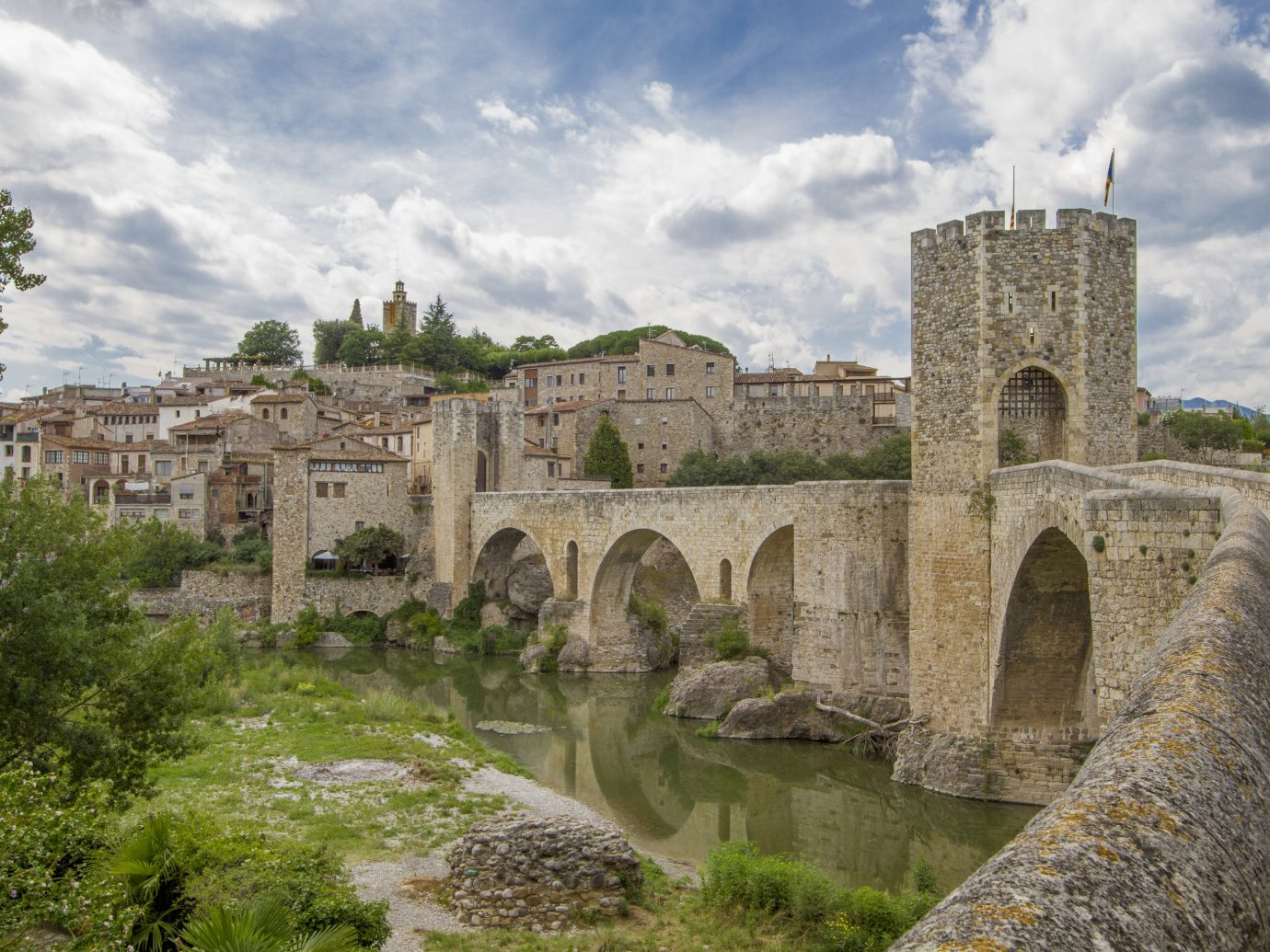 europe Spain Trip Ideas sky fortification history bridge ancient history historic site devil's bridge Ruins Village medieval architecture archaeological site tree castle River middle ages moat aqueduct water tours watercourse