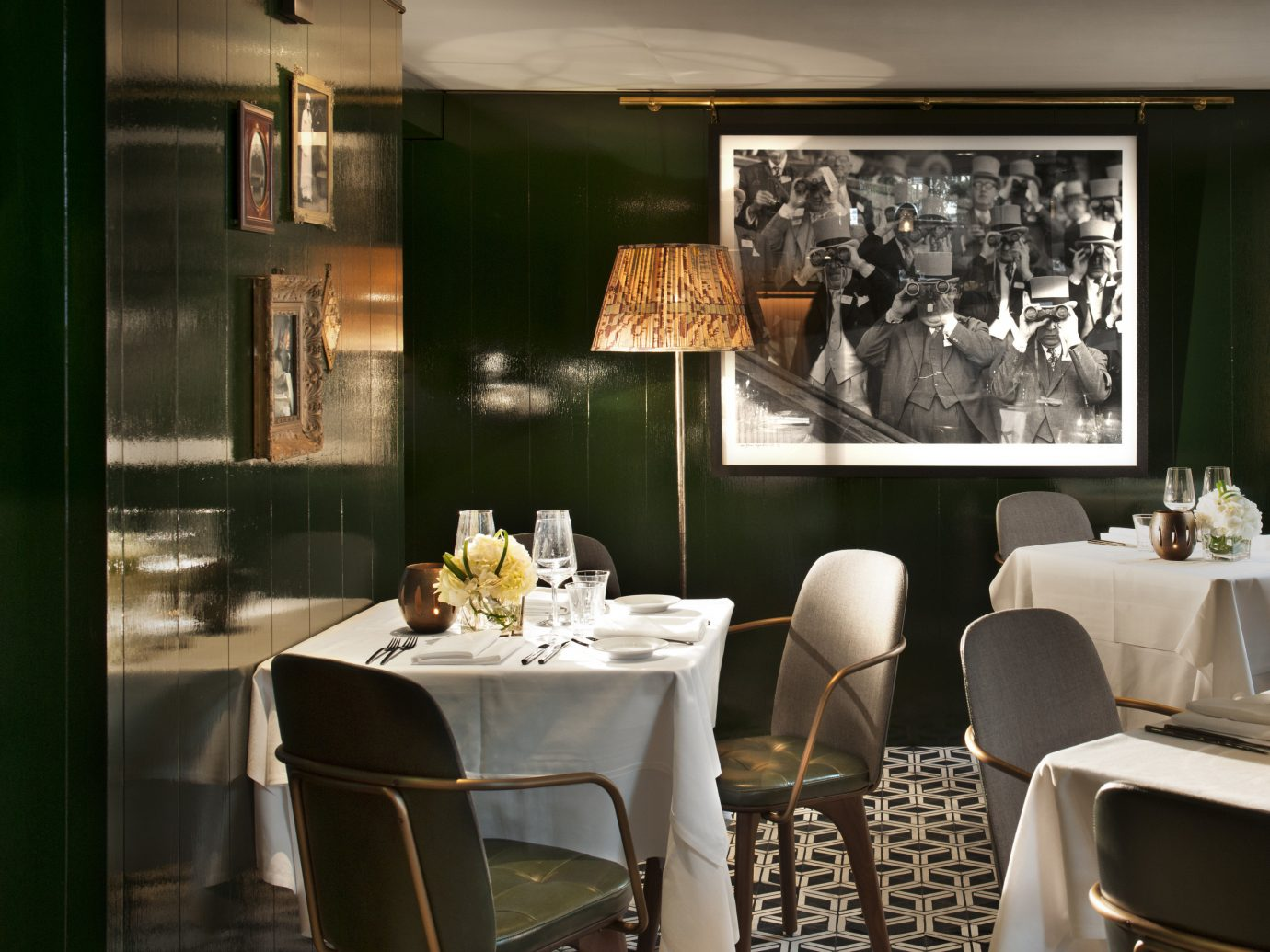 Dining room at il Pampero in Belgravia, London