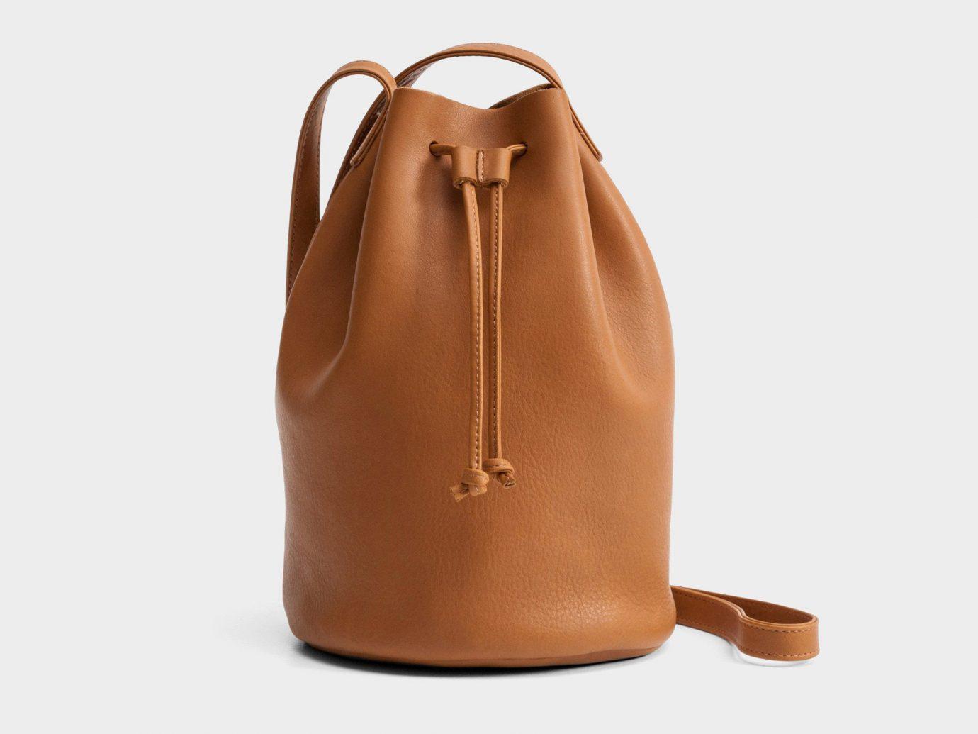 Girls Getaways Trip Ideas Weekend Getaways bag brown leather product handbag caramel color shoulder bag accessory product design tan