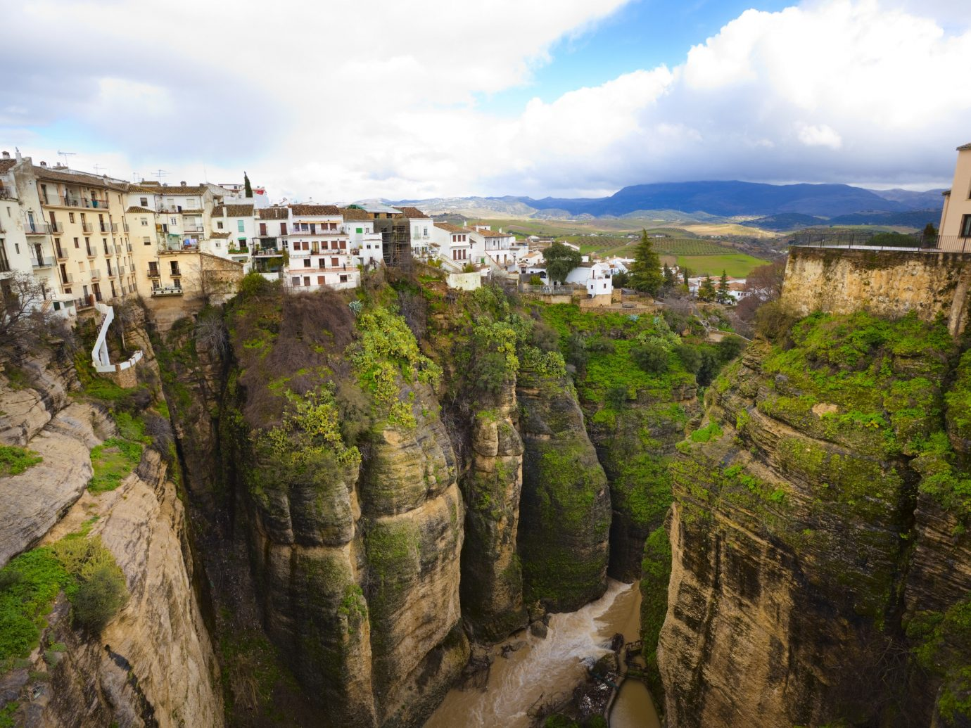 europe Spain Trip Ideas sky historic site hill station escarpment terrain mountain Village tree tourist attraction City cliff national trust for places of historic interest or natural beauty rock mount scenery tourism landscape watercourse national park panorama