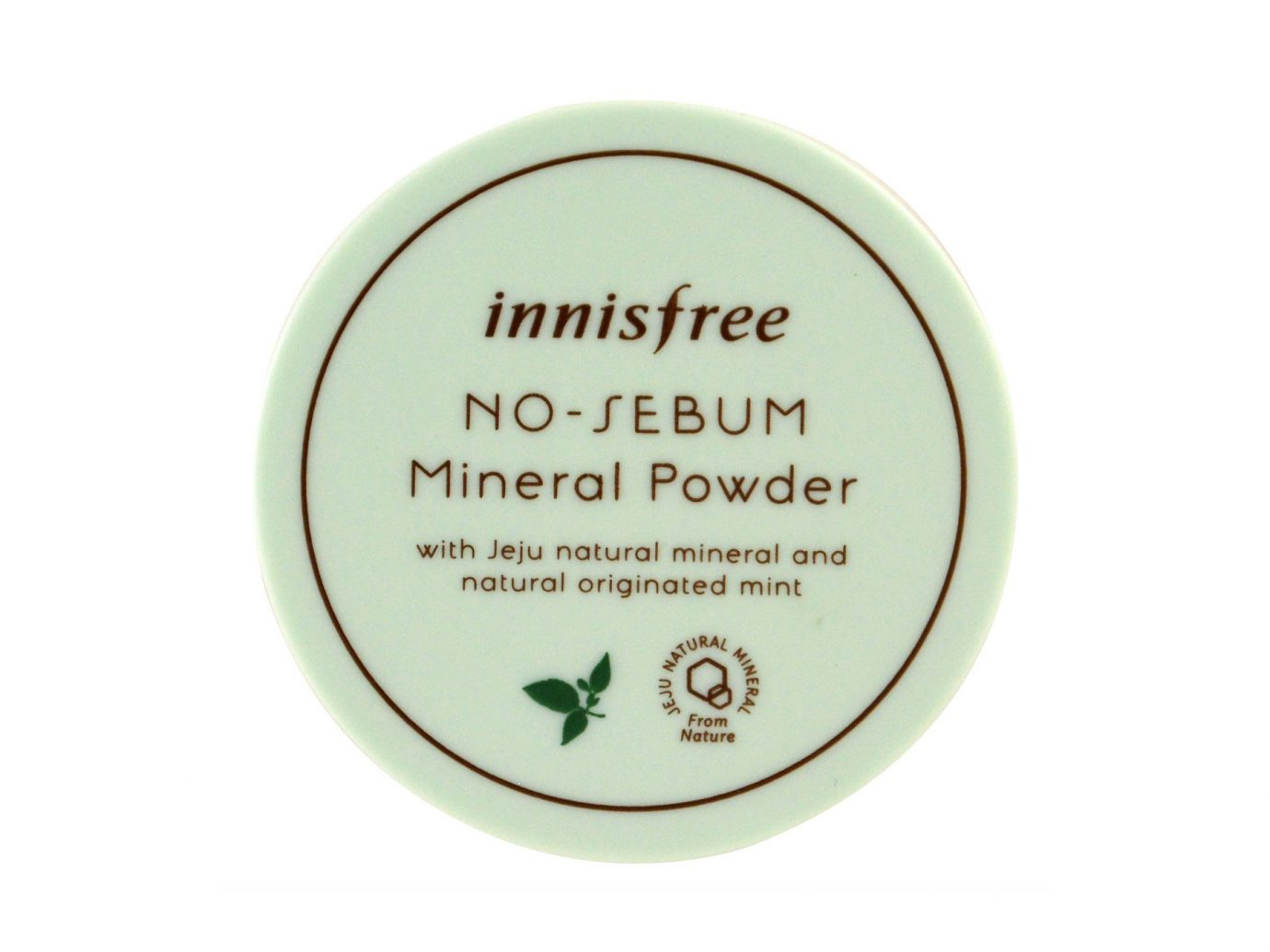 Korean beauty product Innisfree No-Sebum Mineral Powder