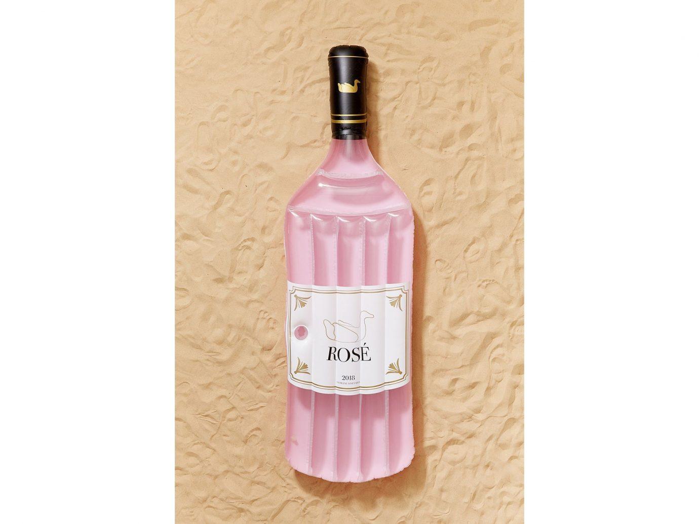 Rosé Bottle Pool Float