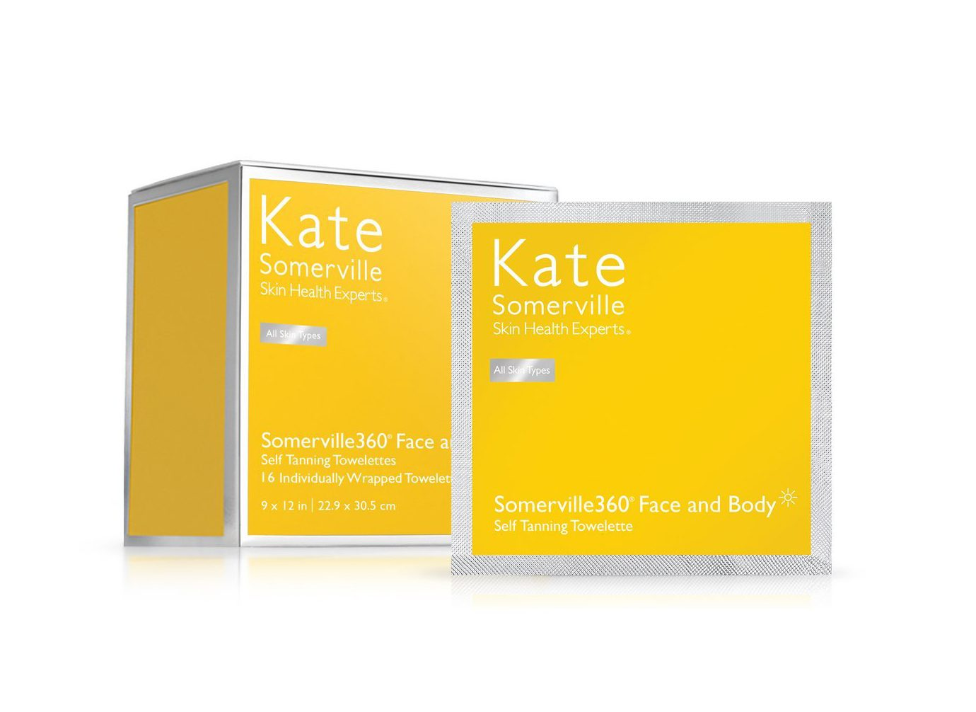 Summer Glow product Kate Somerville Somerville360 Face and Body Self Tanning Towelette