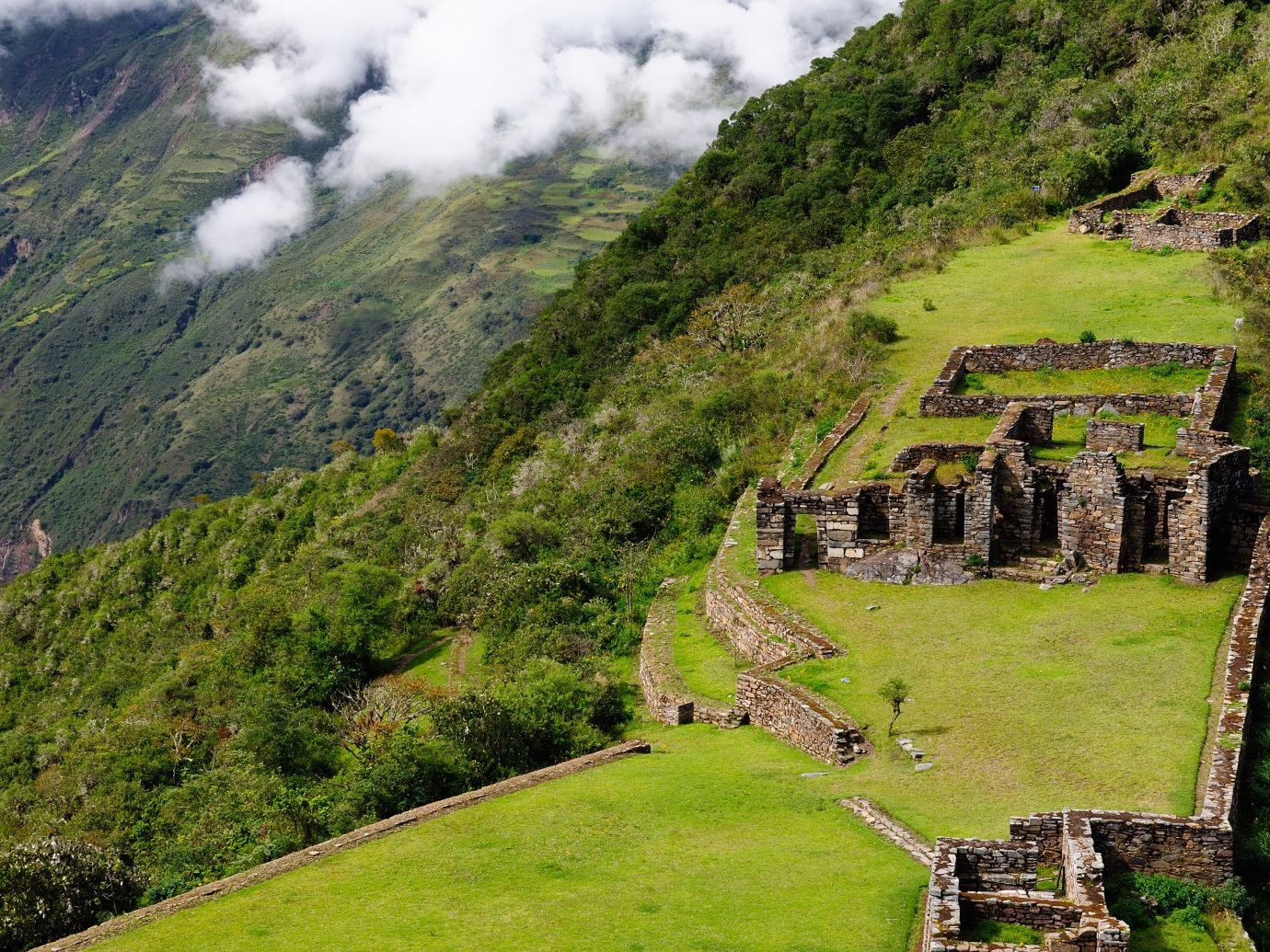 Choquequirao Archaeological Park, Peru
