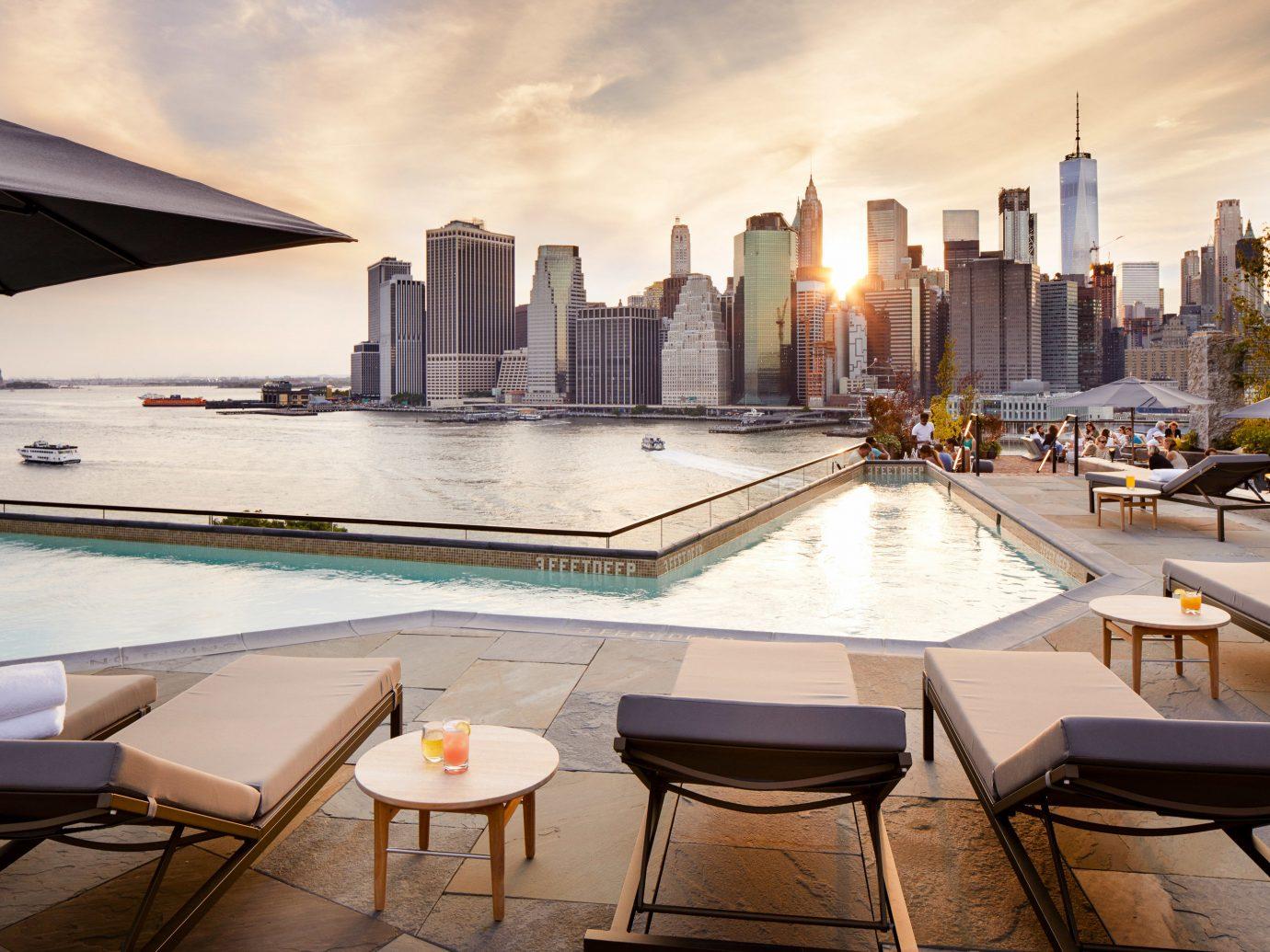 1 Rooftop Garden & Bar, Dumbo Brooklyn