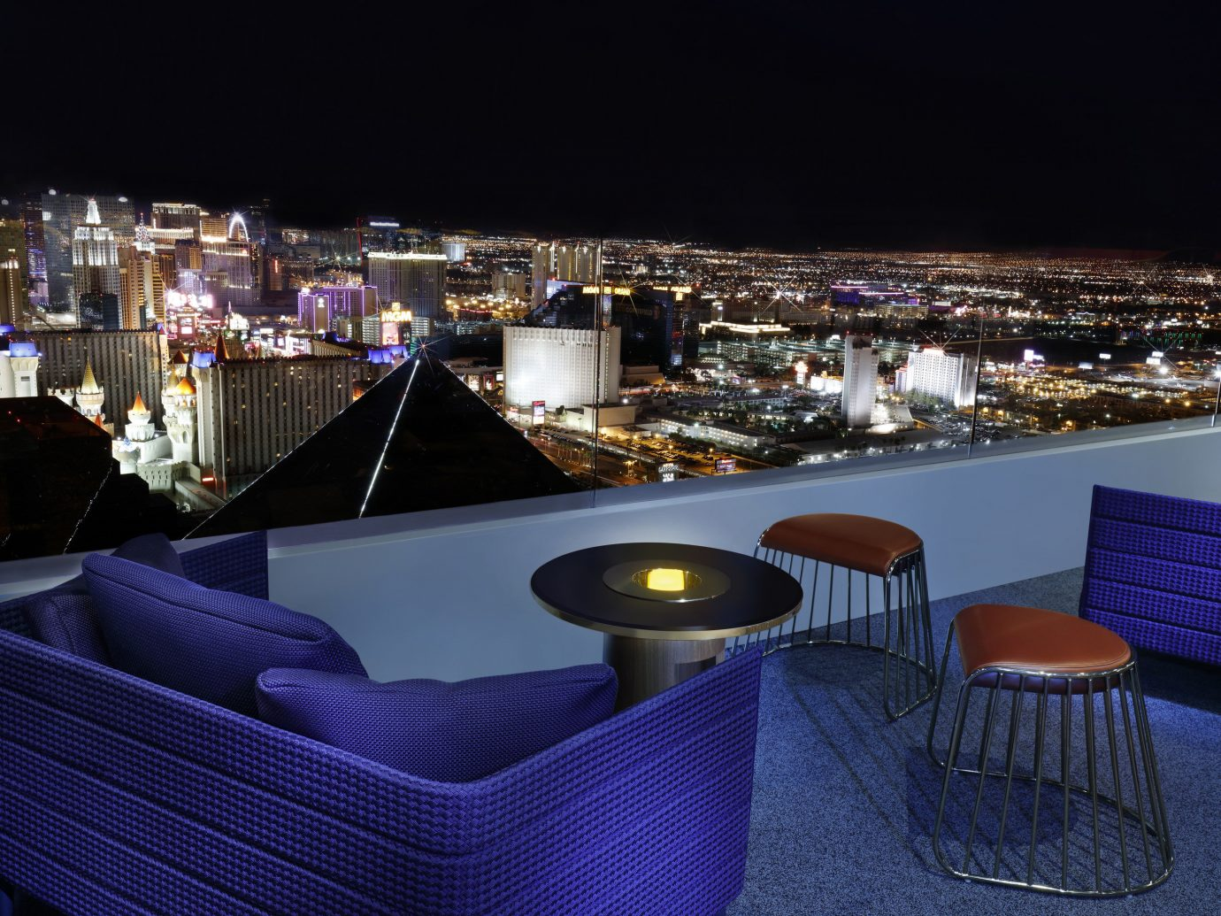 Skyfall Lounge at the Delano
