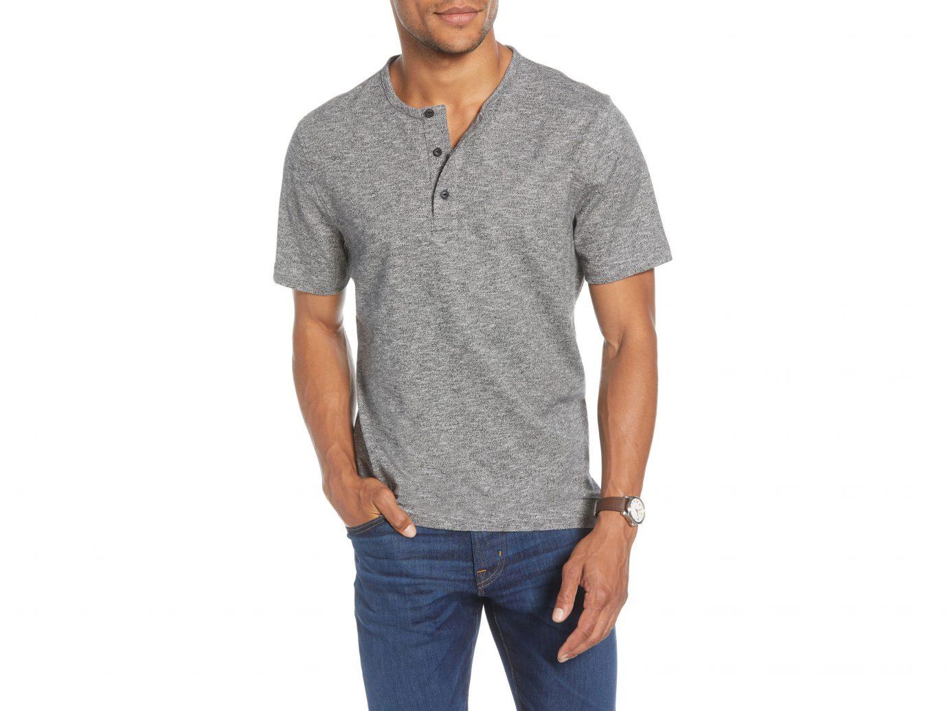 1901 Marl Henley T-Shirt