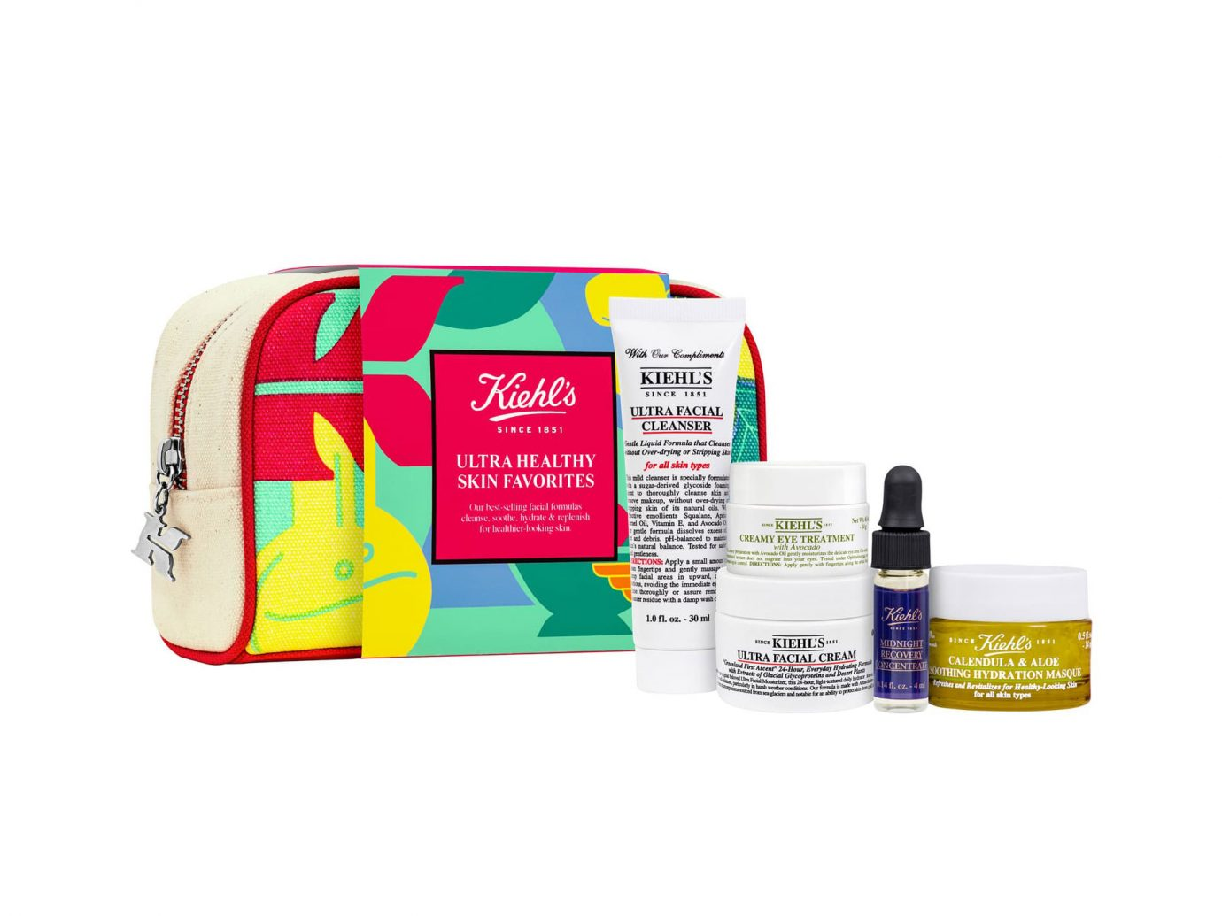 Kiehls Ultra Healthy Skin Favorites Set