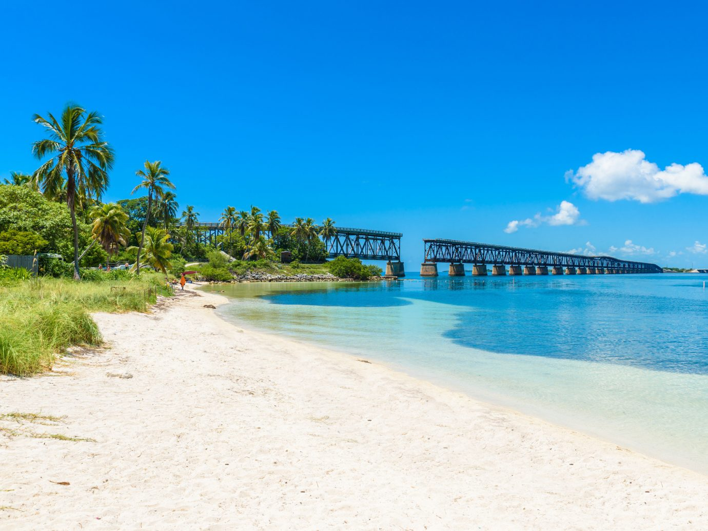Calusa Beach in the Florida Keys