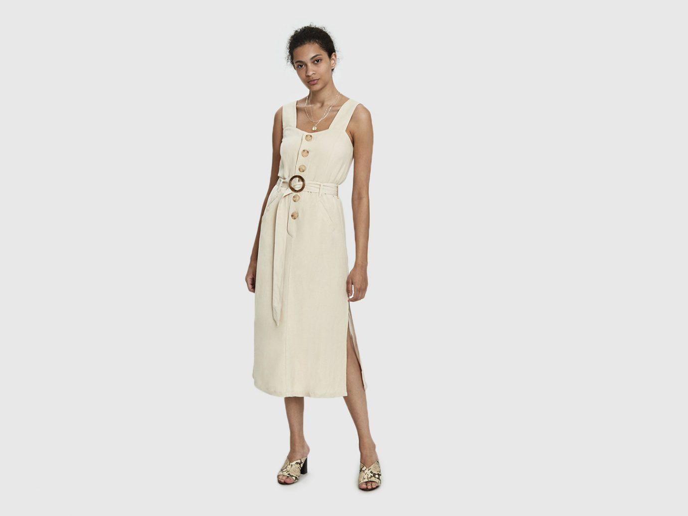 Farrow Daphne Button Dress