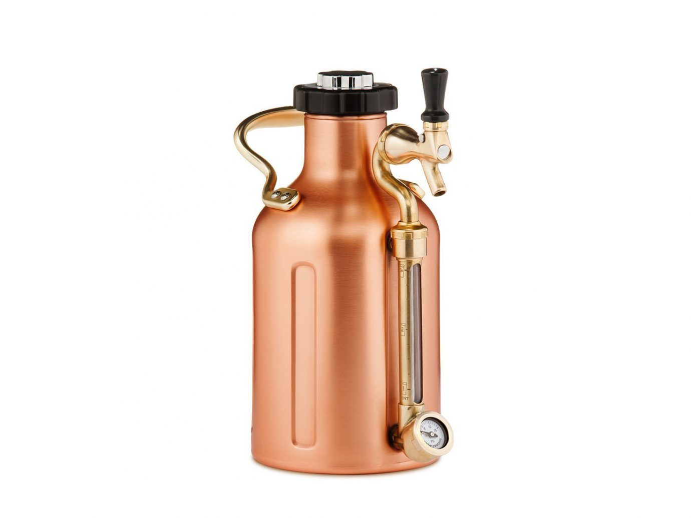 copper beer growler