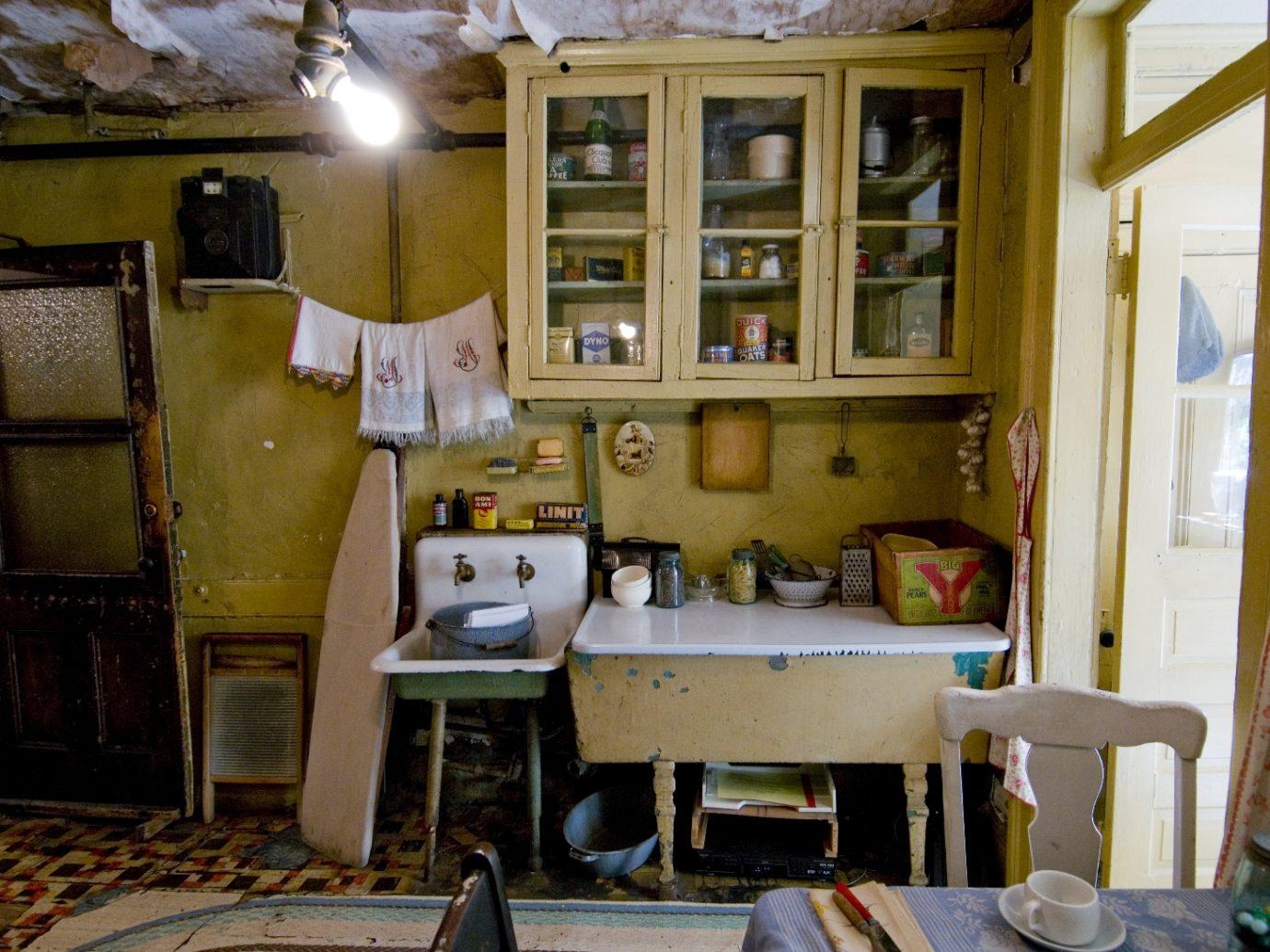 Room in Tenement Museum in NYC