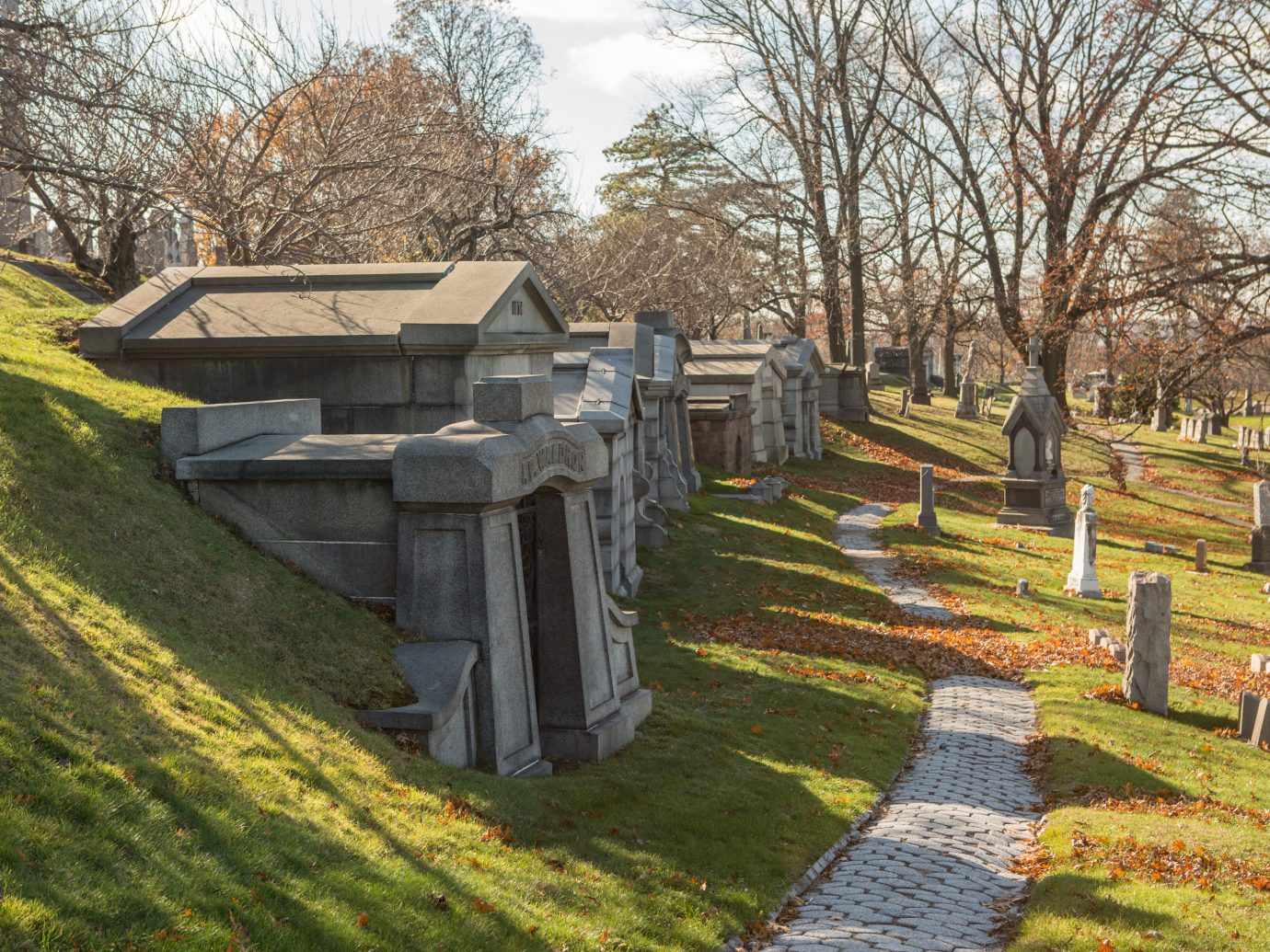 Green-Wood Cemetery in NYC