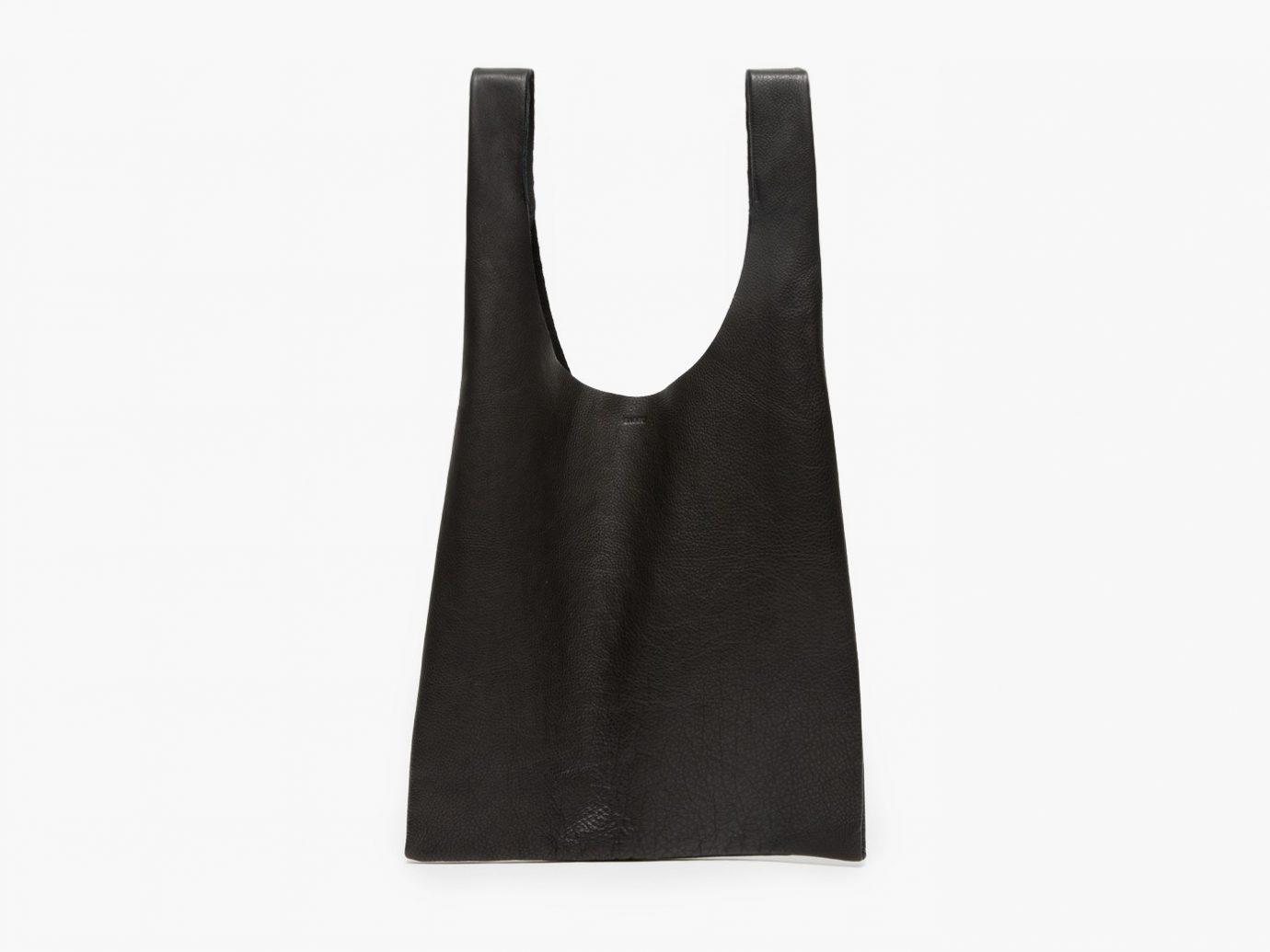 Leather Baggu in Black