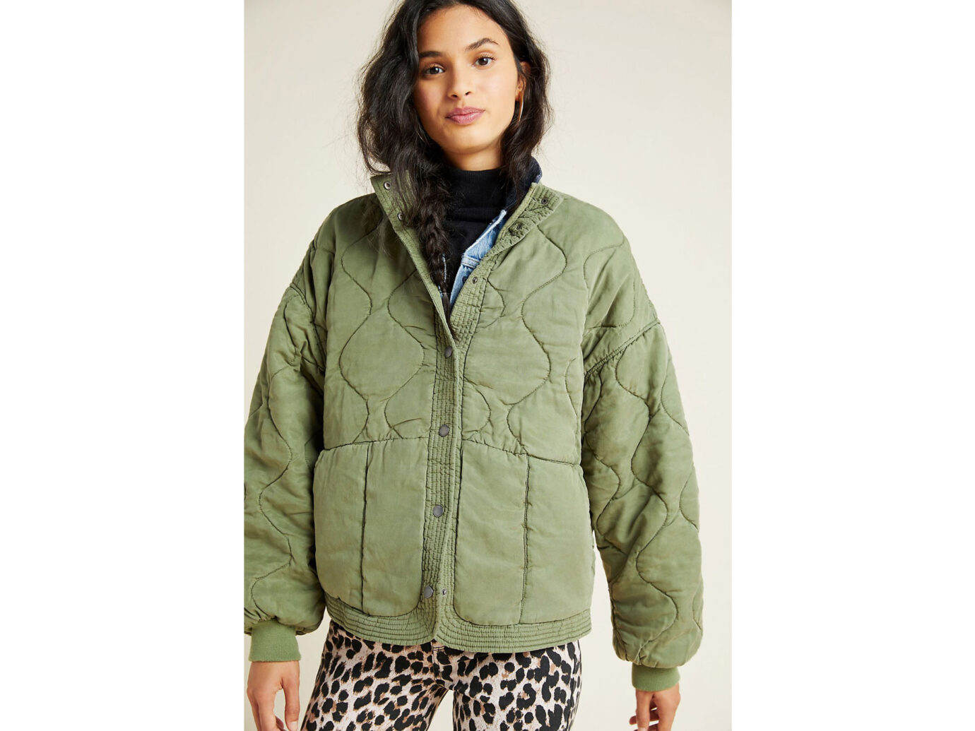 BLANKNYC Fonda Quilted Utility Jacket