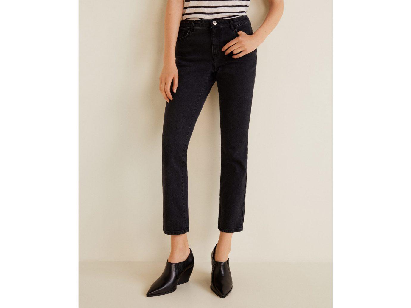 Mango Straight Cropped Sandri jeans