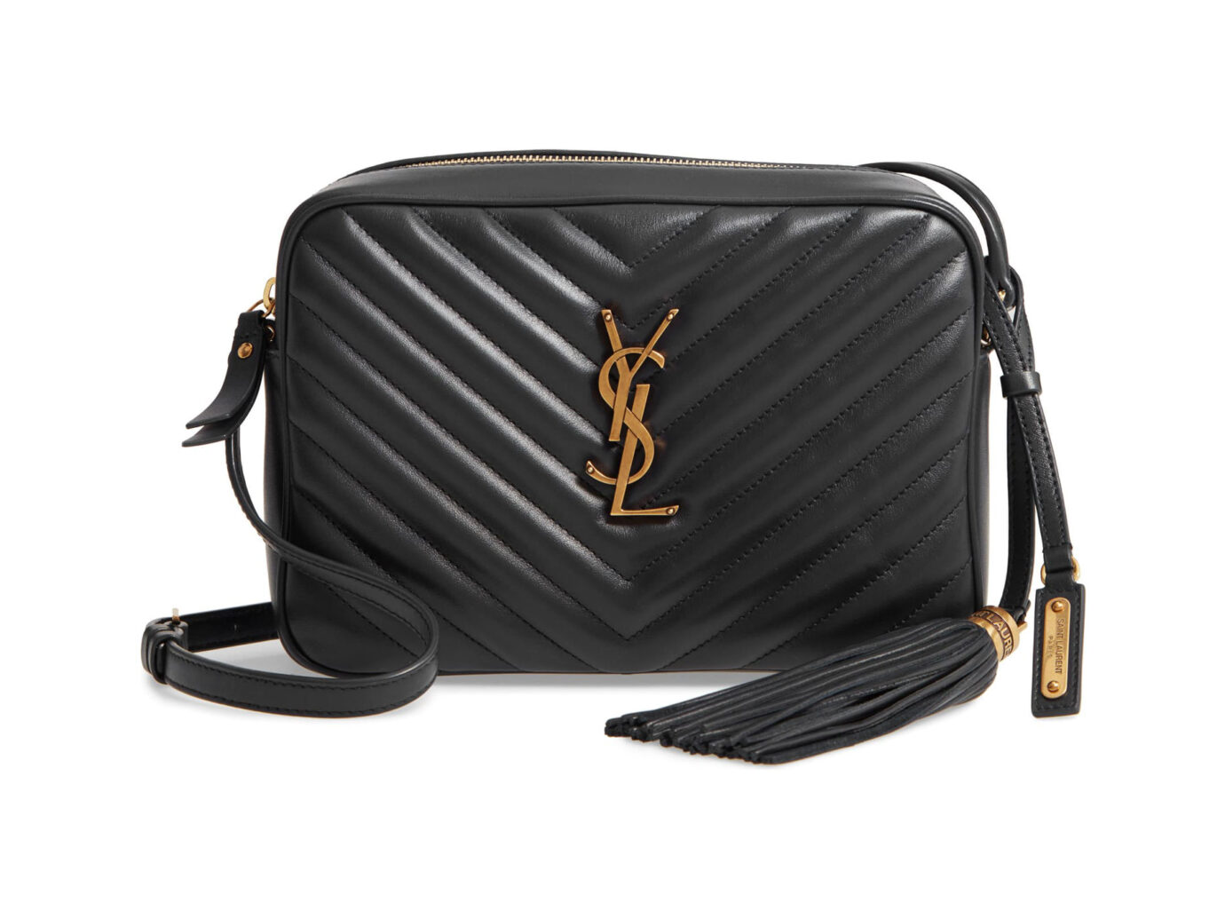 Lou Matelassé Leather Camera Bag SAINT LAURENT