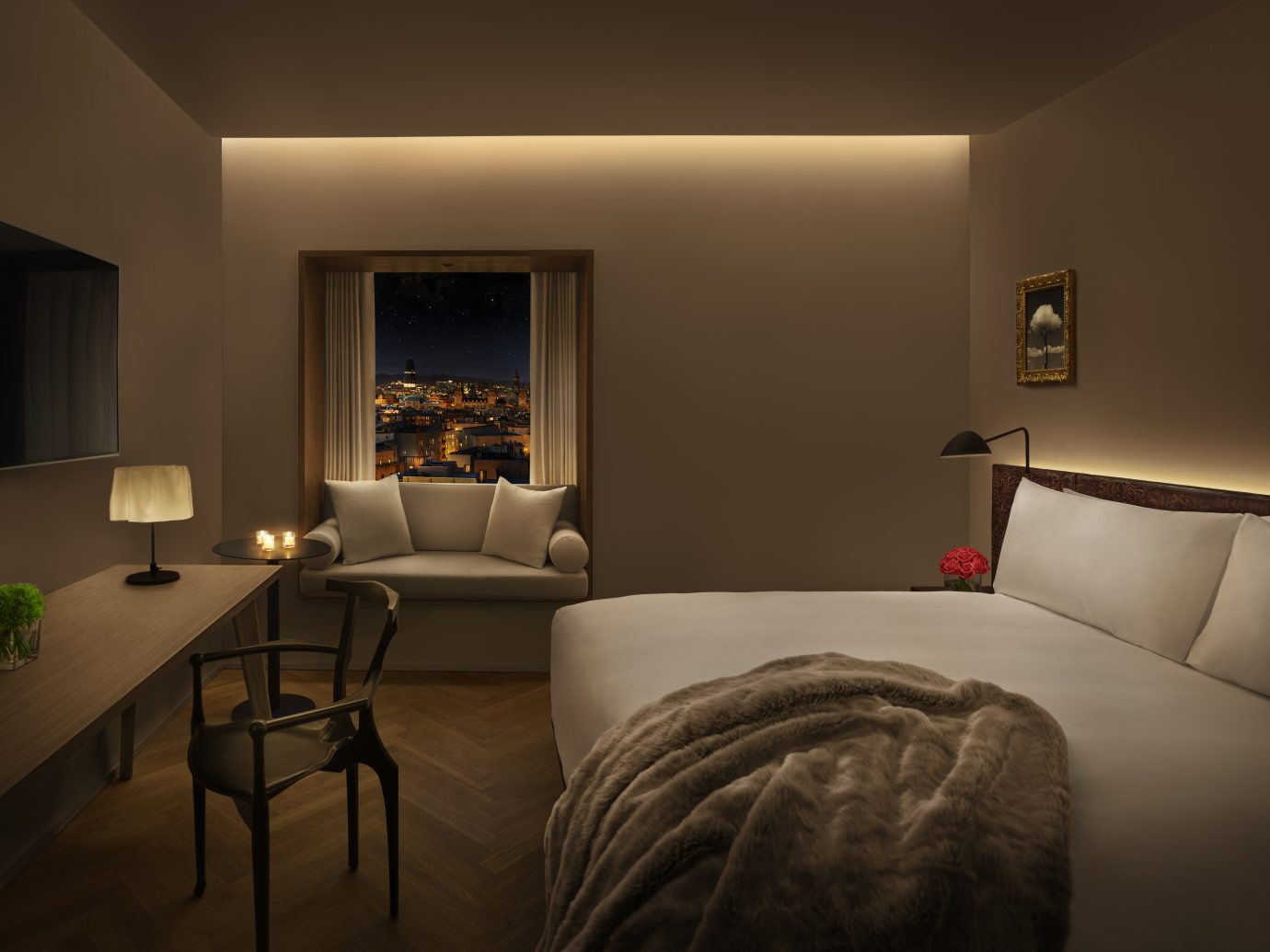 Barcelona EDITION guestroom