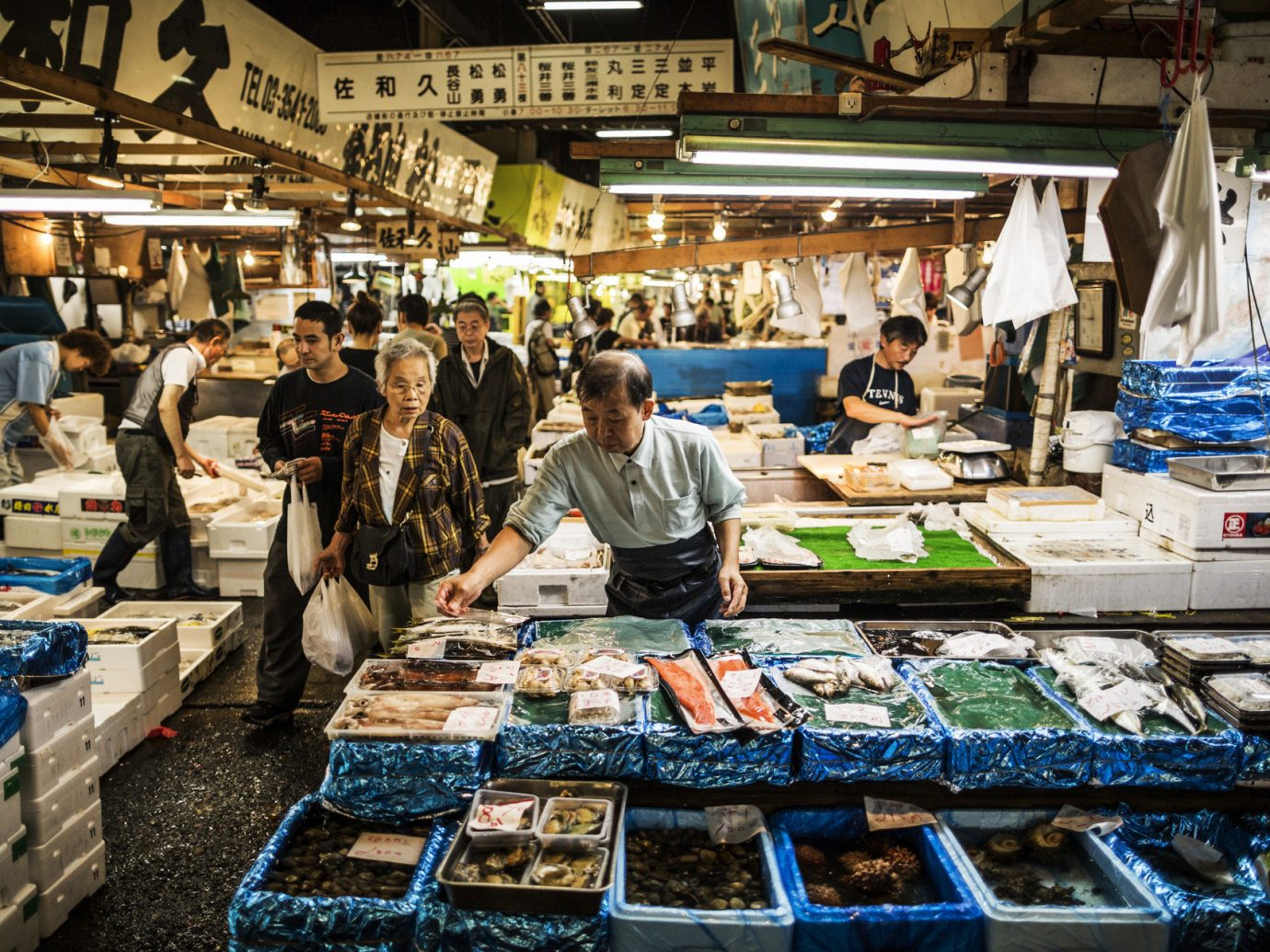 Market in Chou Japan