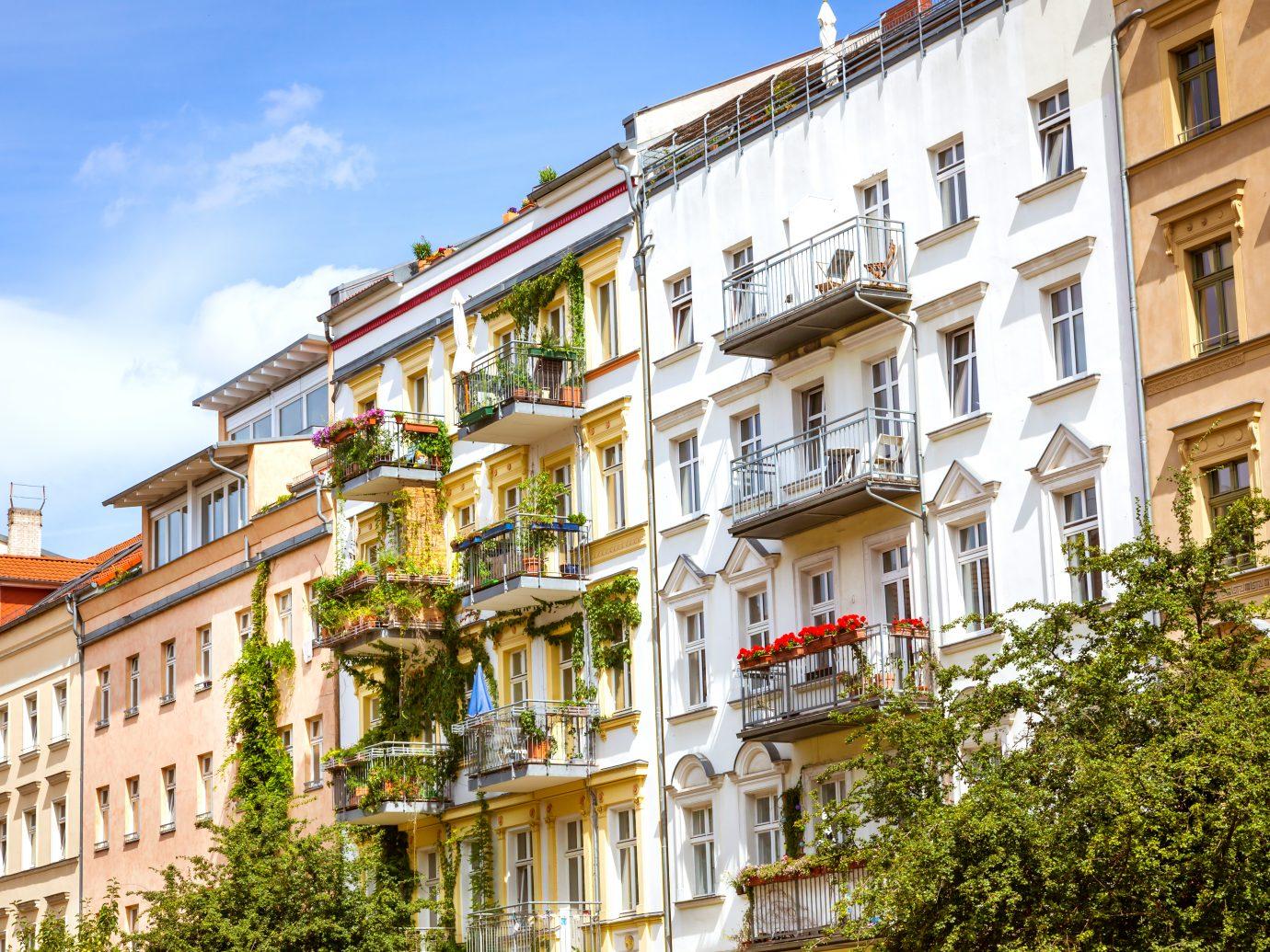 Nice street in Berlin, Prenzlauer Berg