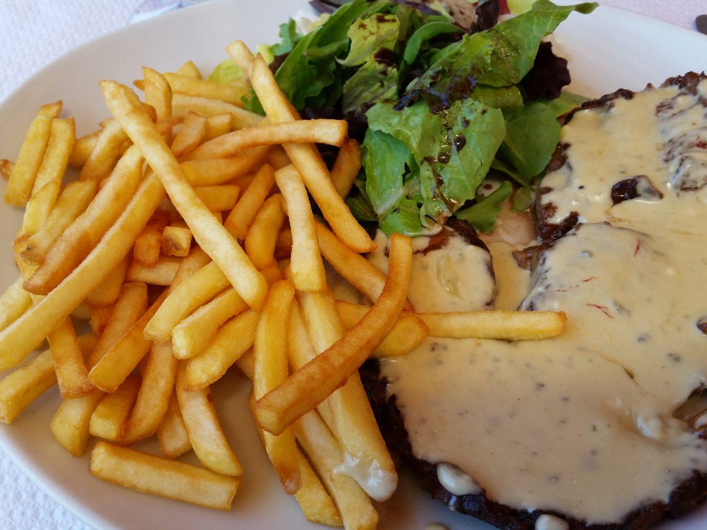 Steak Frites at Bistrot Paul Bert in Paris, France