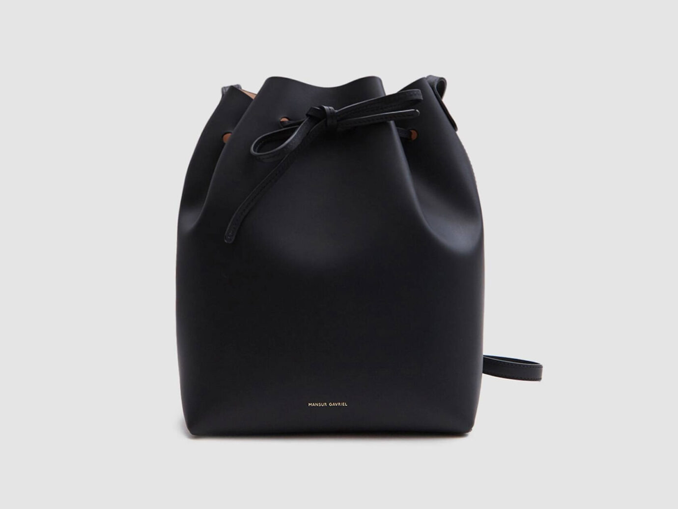 Mansur Gavriel Vegetable Tanned Bucket Bag