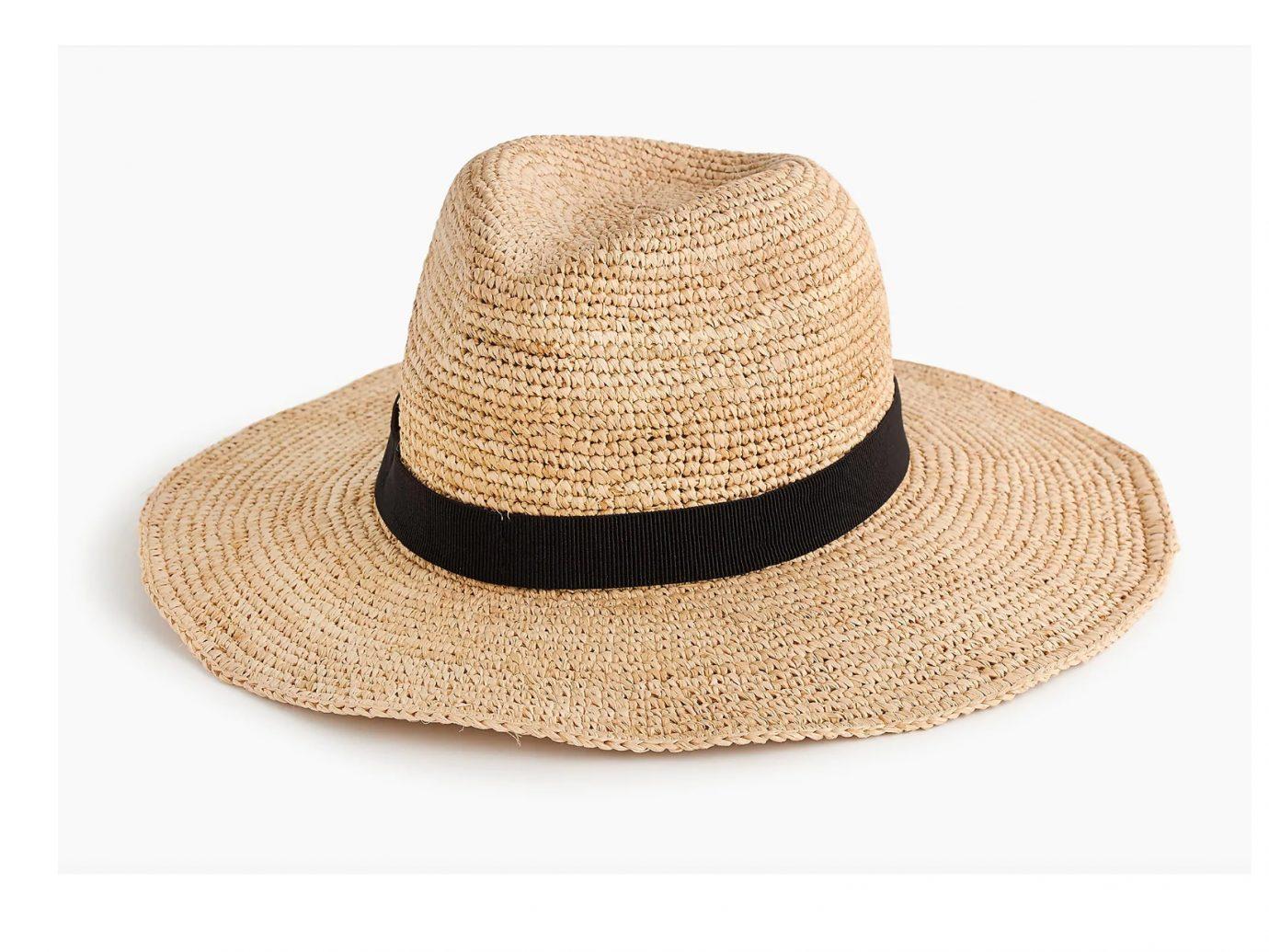J. Crew Wide-Brim Packable Straw Hat