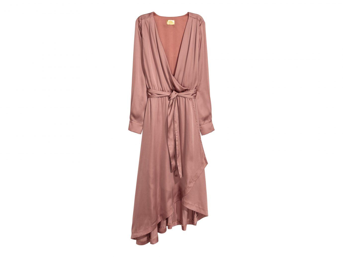 H&M Satin Wrap Dress