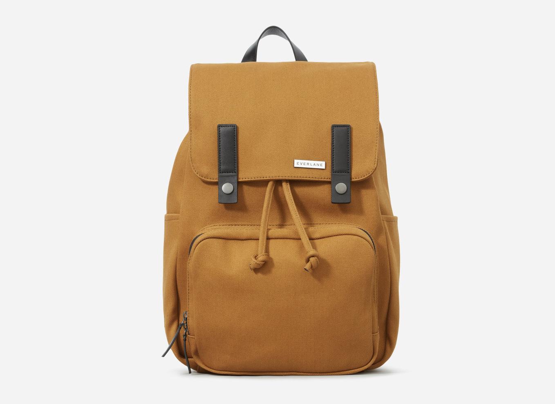 Everlane The Modern Snap Backpack in Golden Brown