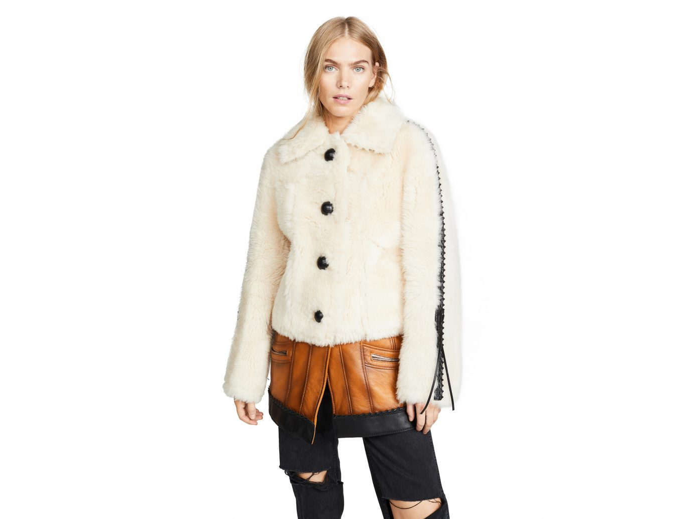 Coach 1941 Shearling Leather Coat