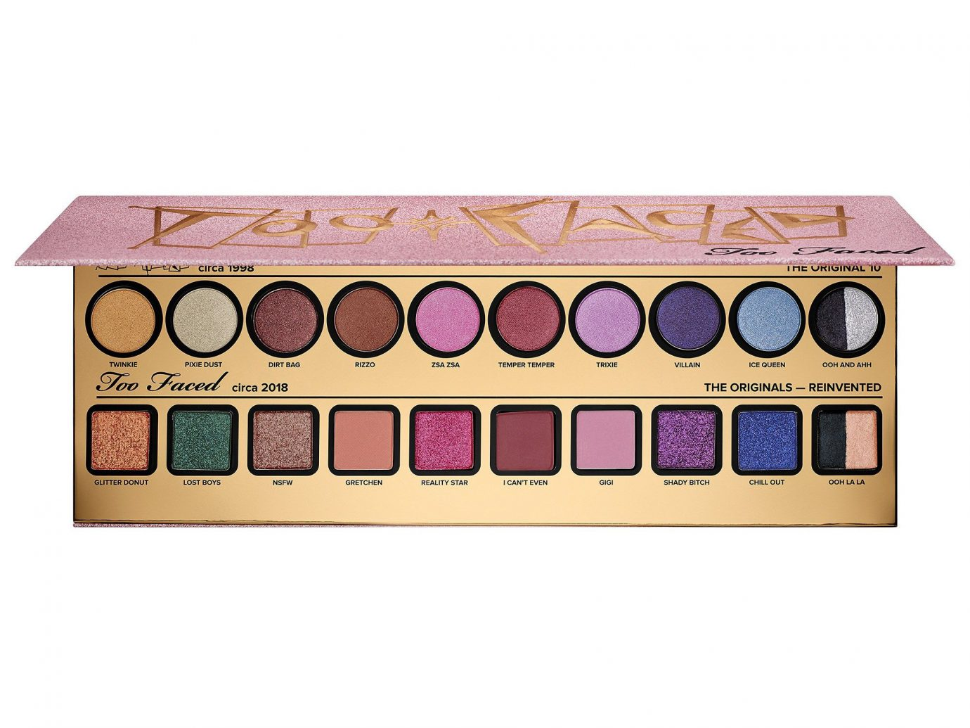 1. Too Faced Then & Now Eyeshadow Palette