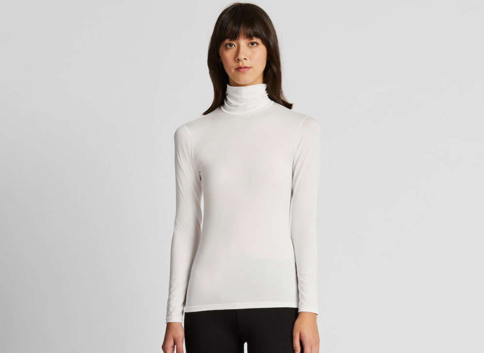 Uniqlo Women's Heattech Turtleneck