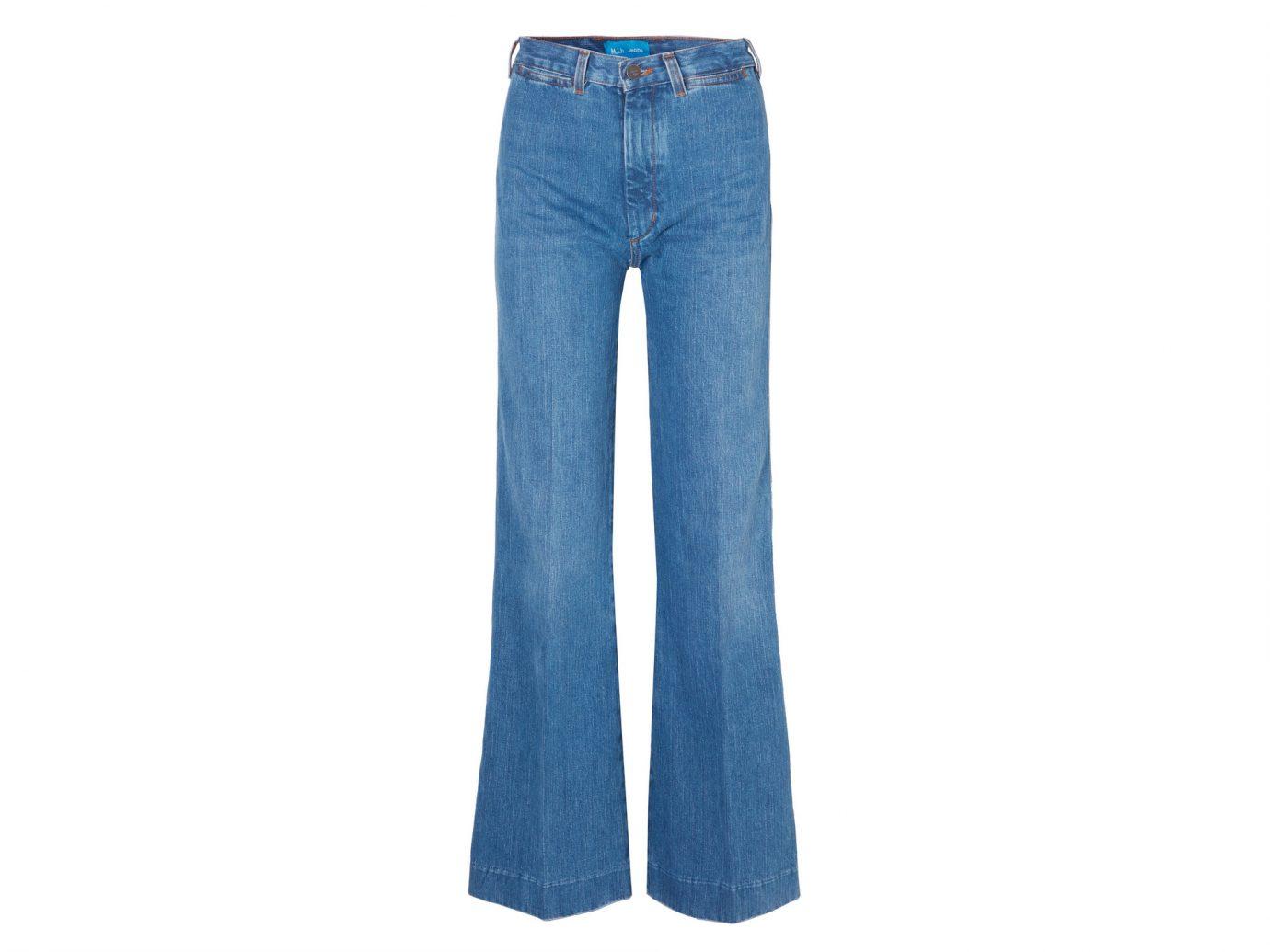 M.I.H JEANS + Bay Garnett Bay high-rise wide-leg jeans