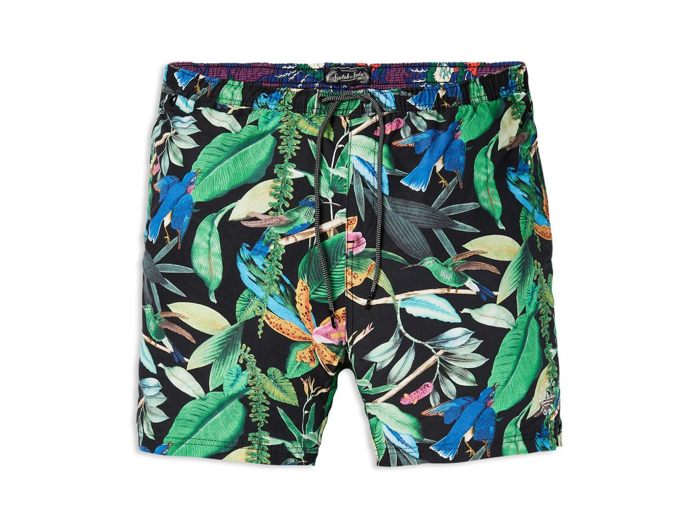 Scotch & Soda Floral Swim Trunks