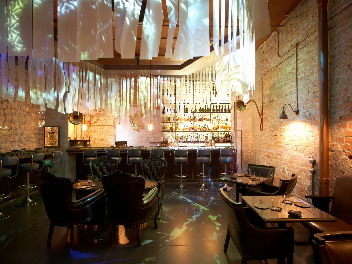Enigma bar and dining room
