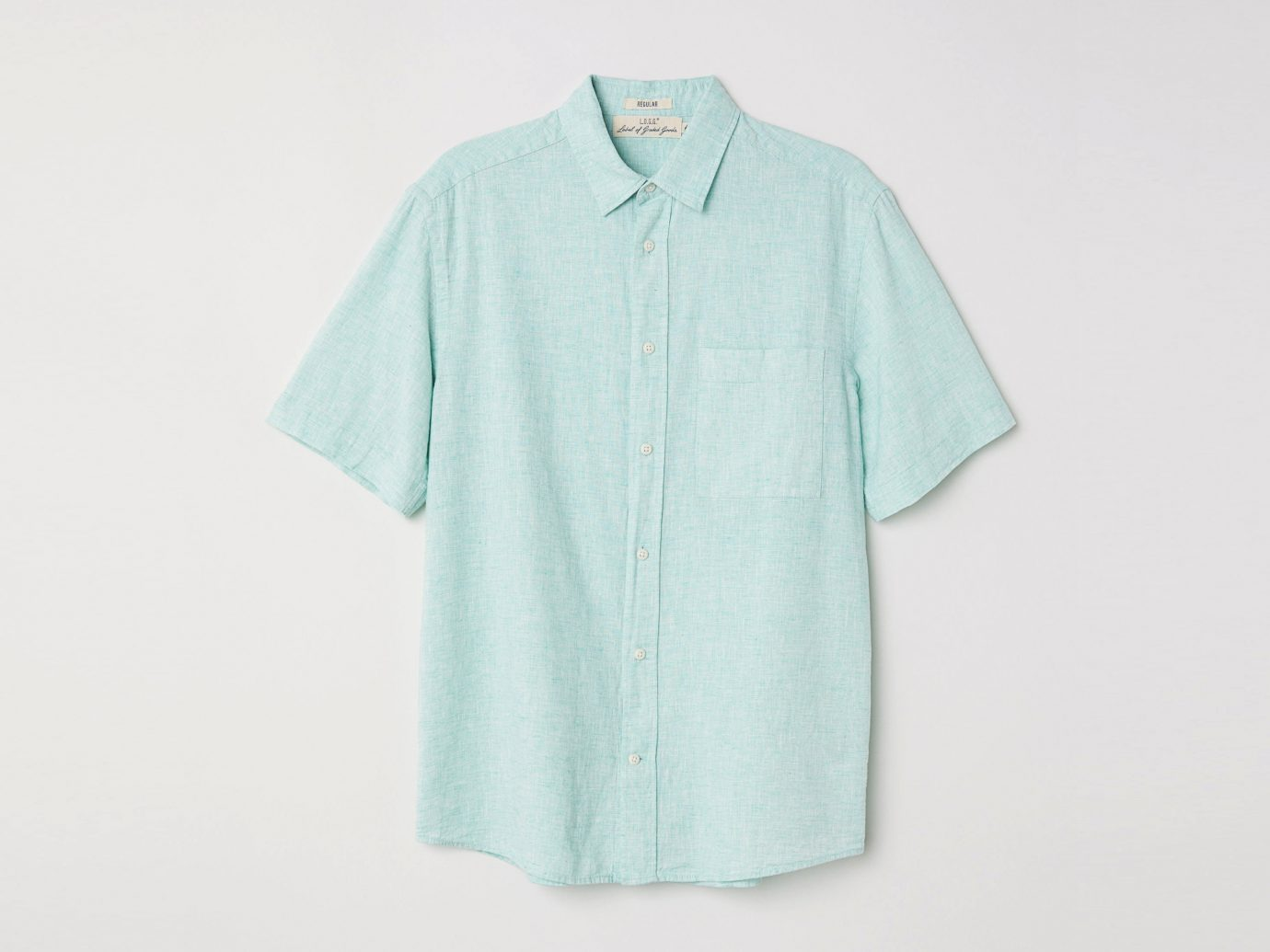 Button Up Short-sleeve Shirt