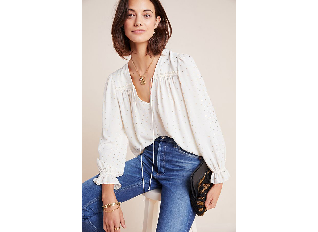 Anthropologie Bristol Blouse