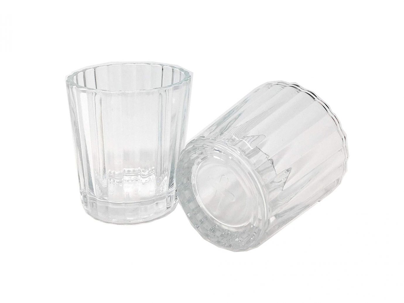 oaxaca mexcal glasses, votive candle holder, with a cross on the bottom
