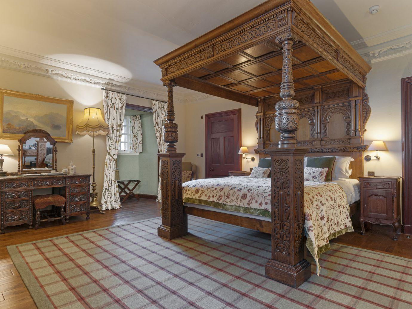 Bedroom at Barcaldine castle