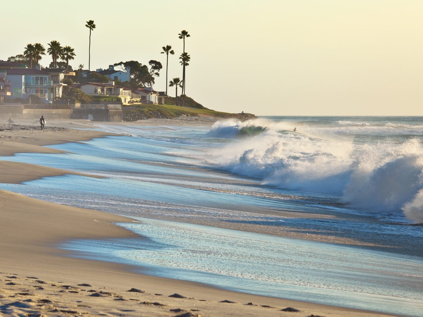 San Diego California beaches are known for their beauty.