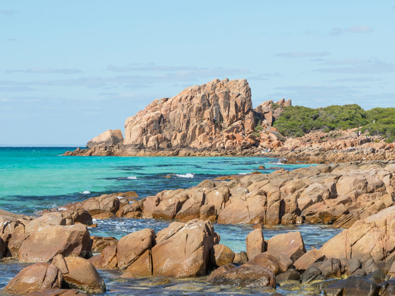 Castle Rock, near Dunsborough in Western Australia