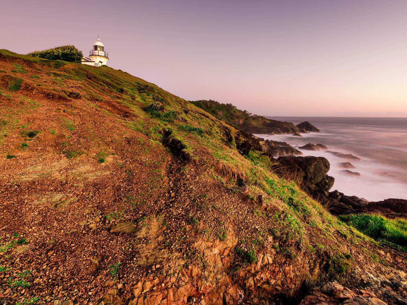 at Lighthouse Beach during sunrise - located in Port Macquarie