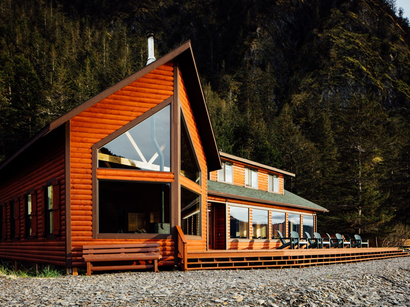 Guest Lodge at Kenai Fjords Wilderness Lodge, Alaska